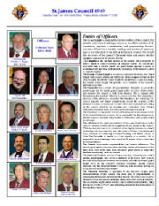 KOFC 4949 Officers2011- 2012. Click on picture to enlarge