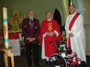 KOFC 4949 Wheelchair project 2011-2012. Click on picture to watch video