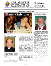 KOFC4949 DEC 2011 Christmas Message Grand Knight. Click on picture to read