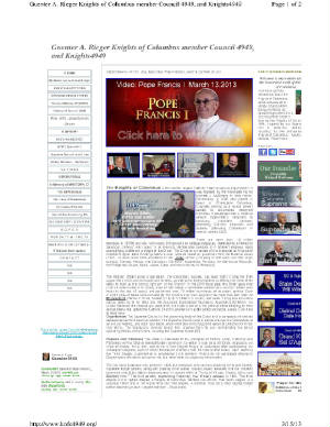 KOFC4949web History of my website