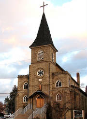 St.James Catholic Church, Vernon BC. Click on picture